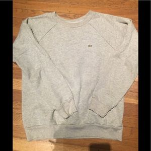 Lacoste Live sweatshirt with gold fleck
